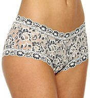 Hanky Panky Cross Dyed Signature Lace Boyshort Panty 591204