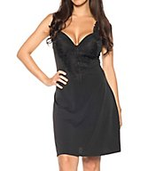 Rhonda Shear Ahh Lace Trim Molded Cup Chemise 8212